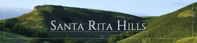 The green Santa Rita Hills in Santa Barbara Wine Country