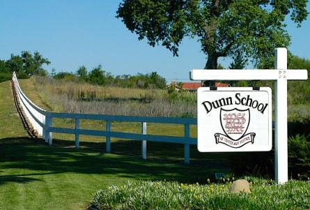 Dunn School sign in Los Olivos, CA